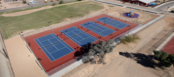 COOLIDGE HS TENNIS COURTS 099