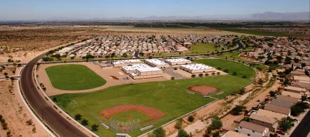 Mountain Vista Middle School Athletic complex